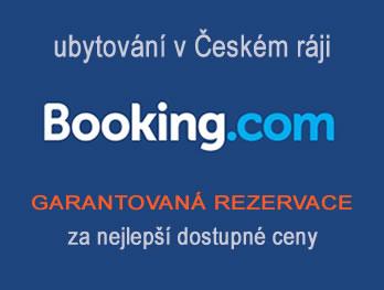 Booking.com - ubytování v Českém ráji bez starostí
